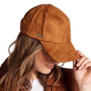 Steve Madden | Faux Suede Snapback Hat
